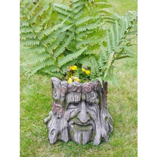 ORNATE FREE STANDING TREE PLANTER PLANT POT FOR FLOWERS HOME OR GARDEN (4673)