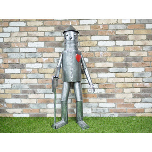 Stunning Large Wizard of Oz Metal TIN MAN Character home/garden ornament 4928