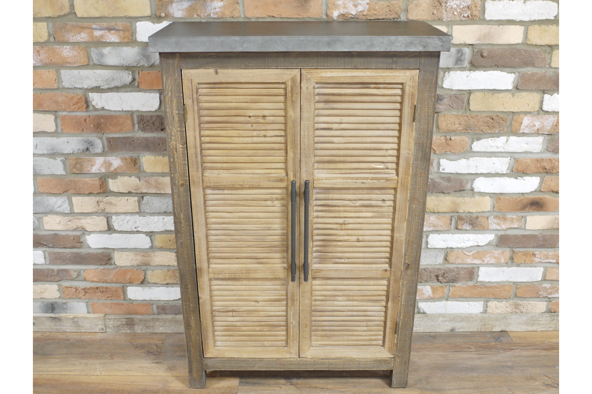 Industrial Wooden Cabinet