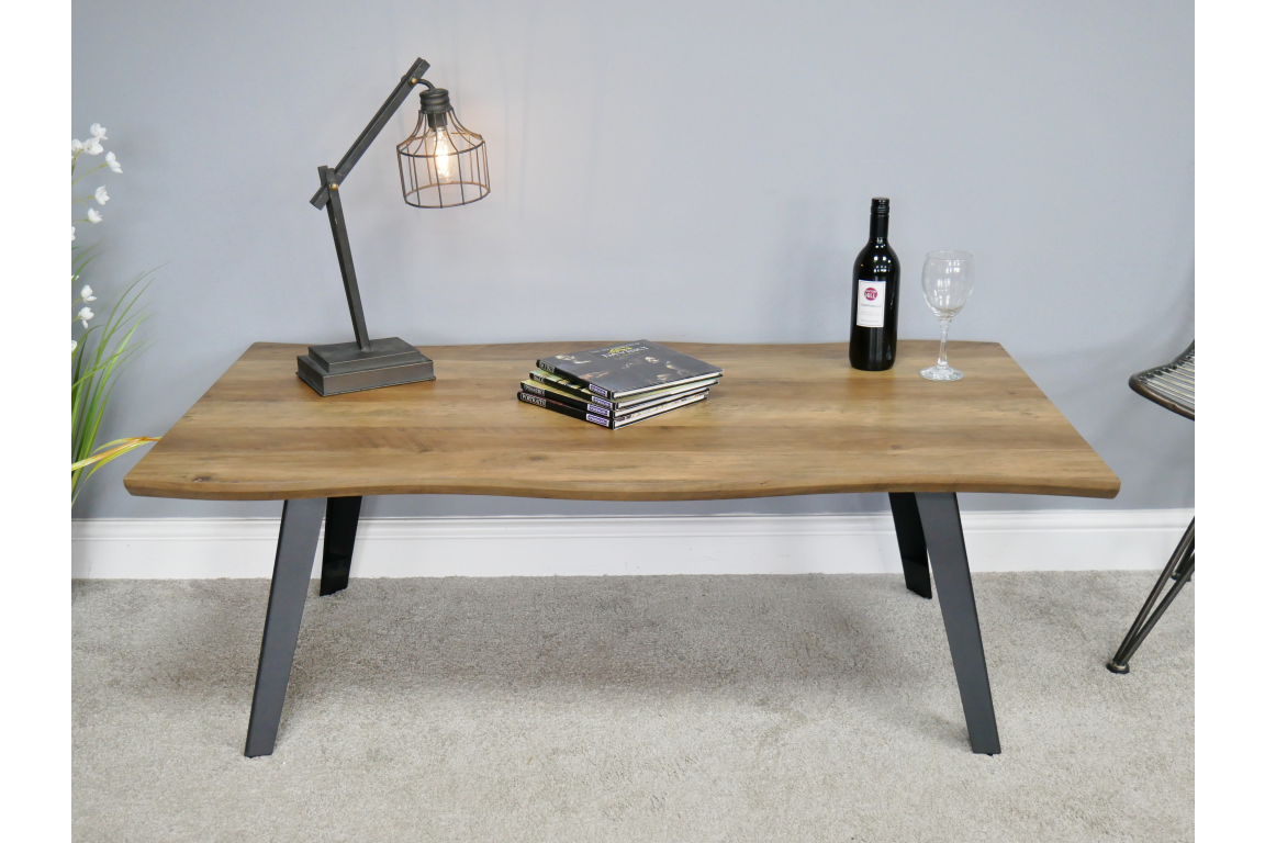 Modern Living Edge Coffee Table