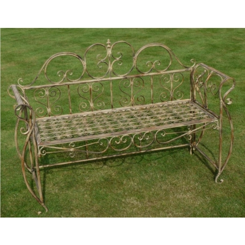 Metal Garden Bench images