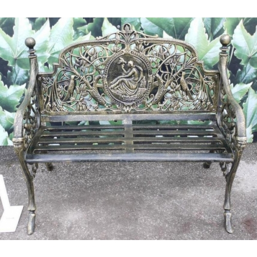 Adelaide Bench In Cast Iron