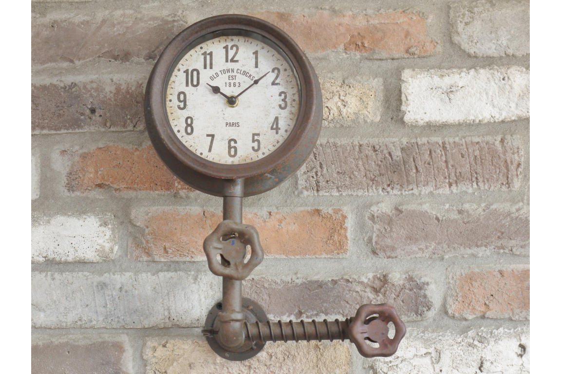 Industrial Single Pipe Clock