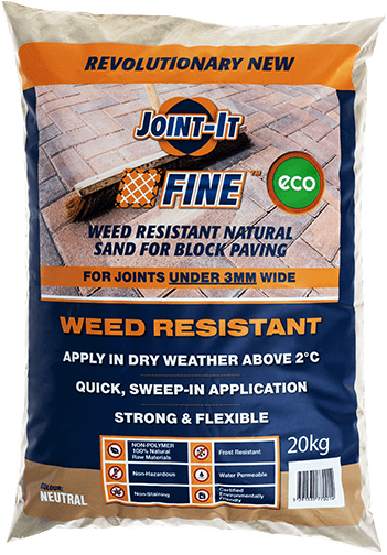 Joint-It Fine  Weed Resistant Natural Sand for Brick Paving