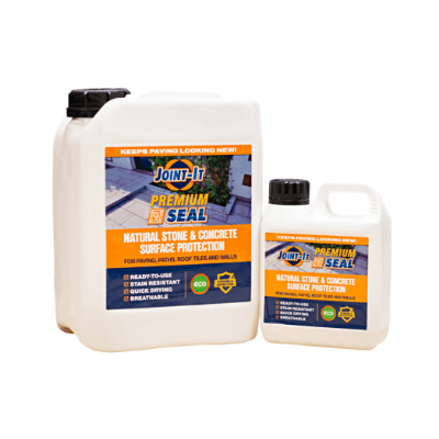 Joint-It Premium Seal 5ltr  Natural Stone and Concrete Surface Protection for paving, paths, roof tiles and walls.