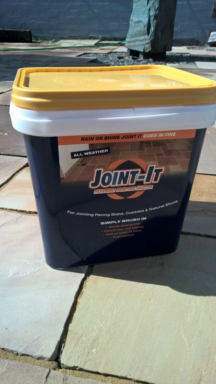 JOINT IT PAVING GROUT Paving Jointing Grout Mortar Compound 20Kg 3 Colours We are delivering fast and free.
