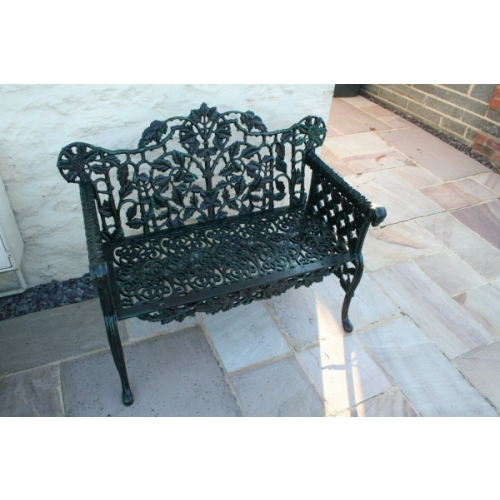 Stunning Cast Iron Taylor Bench